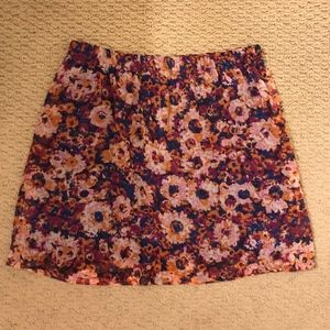 Mossimo Supply Co. - Floral Skirt (Multi-Colored)